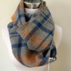 Faribault plaid infinity scarf